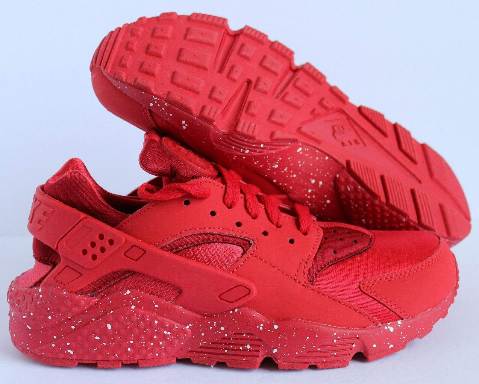 Nike Men's Air Huarache Premium ID Red SZ 6.5  [777330-972]