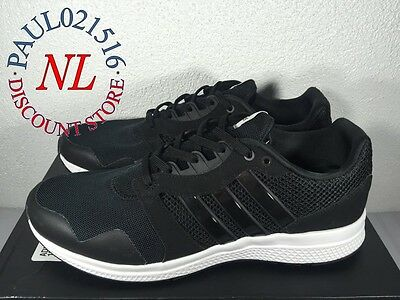 USED Adidas Equipment 16 M Men's Running Shoes ~ Black ~ Size 8 & 9   eBay