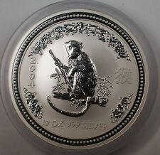 2004 Australia $10 Kookaburra 10oz .999 Silver Coin - In Original Mint Capsule