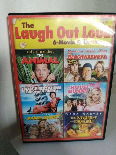 Laugh out loud 6 Movie collection