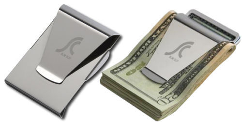 stock photo - Money Clip Credit Card Holder