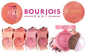 BOURJOIS-DEPUIS-1863-BLUSHER-CREAM-LITTLE-ROUND-POT-POWDER-NEW-CHOOSE-SHADE