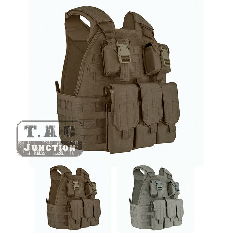 Emerson Tactical Compact High Speed Plate  Carrier SPC Vest w  Magazine Pouch  save on clearance