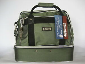 Traditional-Style-Green-Two-Tone-4-Bowls-Carry-Bag-GREAT-BAG-AT-A-GREAT-PRICE