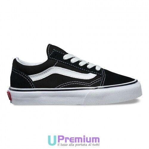 originales Old White Black 2017 Logo Classic V00w9t6bt Skool Baby Vans Zapatos cqwdIYvRq