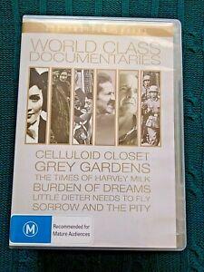 Documentales-de-clase-mundial-armario-de-celuloide-DVD-7-Discos-R-todos-como-nuevo