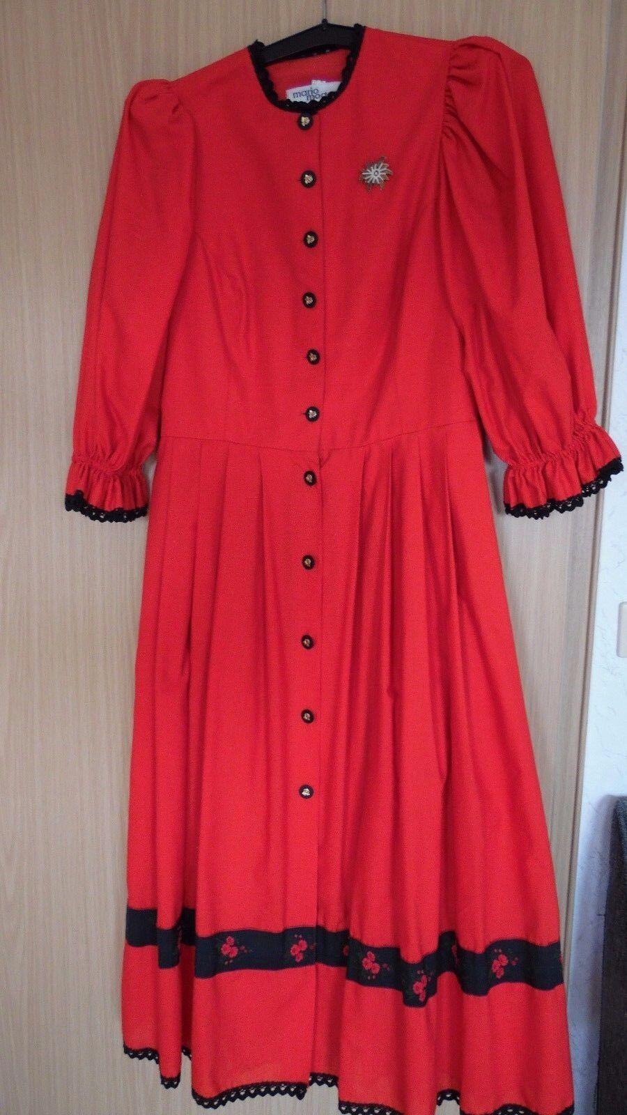 Kleid Größe 40  Rot Landhauslook Oktoberfest