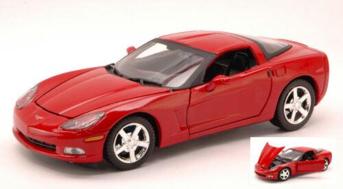 Corvette C6 2005 Red 1:24 Model MOTORMAX