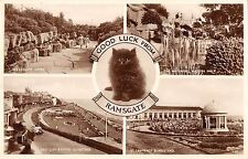 BR77383 good luck from ramsgate cat    uk