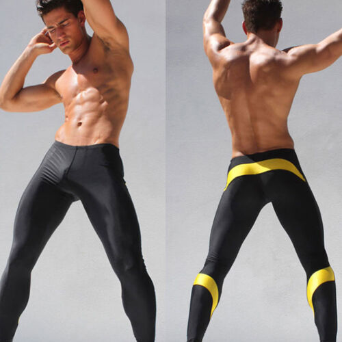 Mens Compression Base Layer Pants Gym Fitness Running Sports Legging Trousers XL