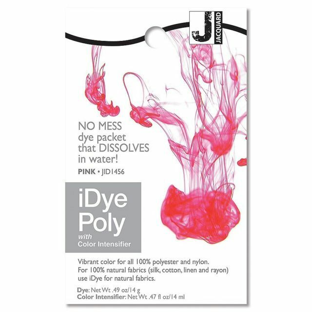 Jacquard iDye Poly - 16 Colours Available -  For Polyester and Nylon fabrics