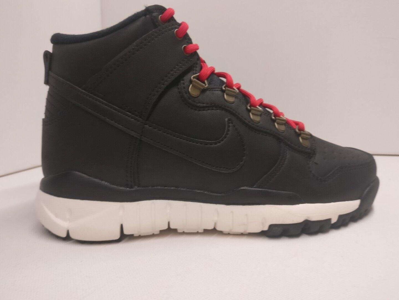 Nike SB Dunk Alta Bota Reino Unido 5.5 Negro Vela Ale Marrón 806335012