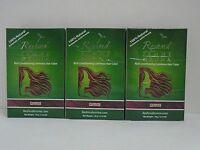 Reshma Henna Powder Rouge For Hair Herbal Natural Powder - Lot Of 3