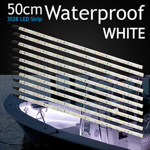 10pcs waterproof 50cm led strip light boat marine yacht camping image is loading 10pcs waterproof 50cm led strip light boat marine aloadofball Gallery