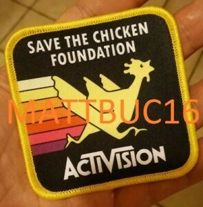 Activision-Atari-2600-Freeway-Save-the-Chicken-Foundation-Repro-Patch