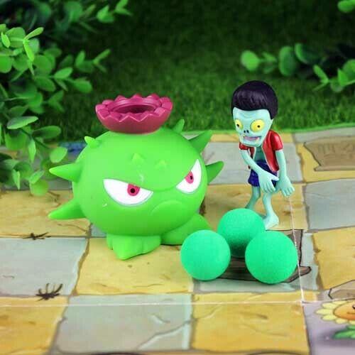 strip balls Plants vs zombies-peashooter pvc