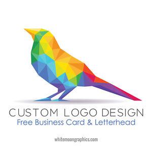 Custom Logo Design Business Card And Stationery