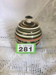 Vintage-Totland-Bay-Sugar-Bowl-Jam-Pot-with-Lid-1970s-Vintage-Studio-Pottery