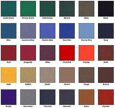 9/' Tournament Blue ProLine Classic 303 Teflon Billiard Pool Table Cloth Felt