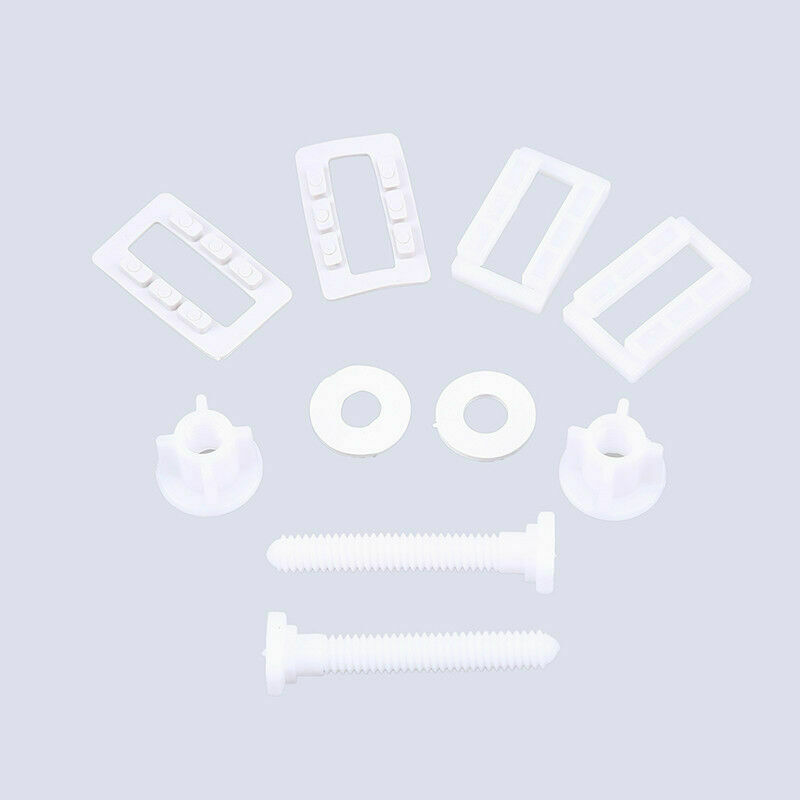Toilet Seat Hinge Bolts Replacement Fixing Fitting Bolt Screws Kits Repair Set