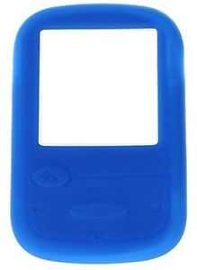 Silicone-Skin-Case-Cover-for-SanDisk-Sansa-Clip-Sport-MP3-Player-Blue