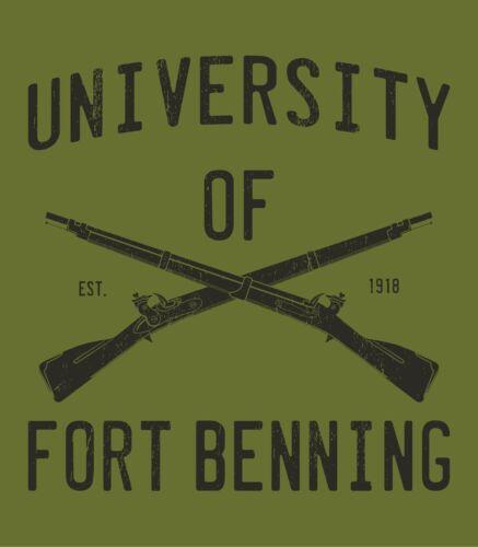 Grunt Gift University of Fort Benning Infantry 11B 11C Short Sleeve Shirt