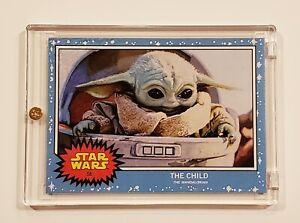 2019 Topps Star Wars Living Set #58 The Child (Grogu) Mandalorian SP Baby Yoda