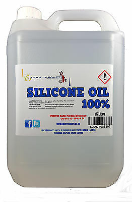 SILICONE OIL 5 LITRES / 5000ML FOR TREADMILLS AND BELTS/ROLLERS