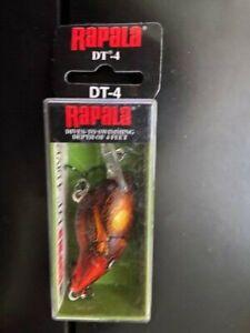 Rapala-DT-4-Long-Casting-Rattlin-039-Crankbait-Rusty-DT04-RUS