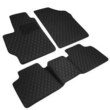 Toyota Camry 2012 2017 Custom Fit Heavy Duty Faux Diamond Leather Floor Mats Fits 2012 Toyota Camry