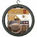 couvre-volant-100-cuir-noir-SP-rouge-nissan-almera-diametre-volant-37-39cm