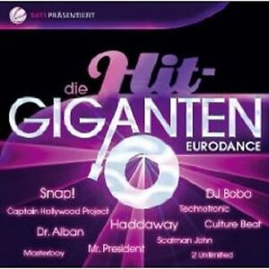 DIE-HIT-GIGANTEN-EURODANCE-2-CD-HADDAYWAY-UVM-NEU