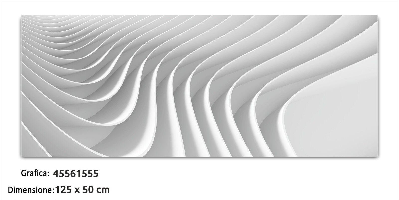 QUADRO MODERNO MODERNO MODERNO IN VETRO TEMPERATO cm 125x50 STAMPA DIGITALE ASTRATTO DESIGN ARTE 9fe985