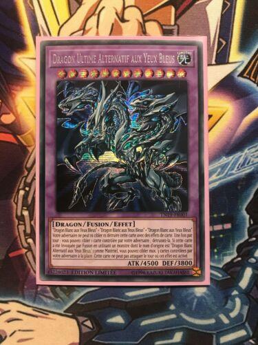 Card yu gi oh ultimate dragon alternative blue eyed tn19-fr001