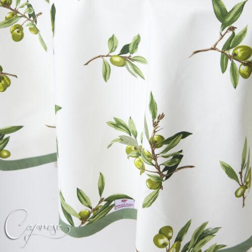 TOVAGLIA 180 x 180 cm olive motivo dall/'Italia 100/% cotone nuovo e süβ