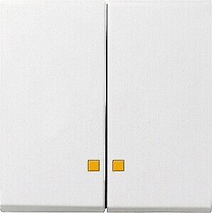 GIRA Serienwippe Kontrollfenster 063103 System 55 reinweiss glänzend