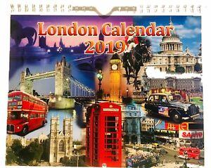 london pictorial wall hanging calendar 2019 ebay