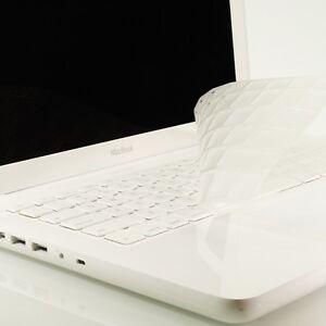 NEW-ARRIVAL-CLEAR-TPU-Keyboard-Cover-Skin-for-APPLE-Macbook-White-A1342