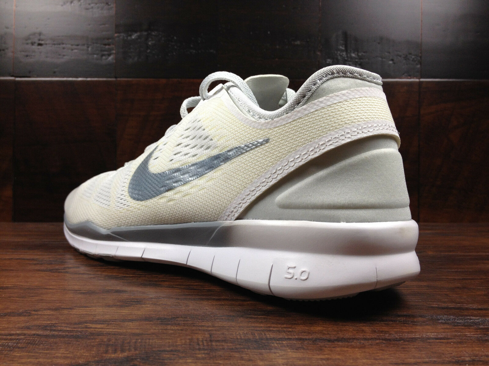 NIKE FREE 5.0 TR FIT FIT FIT 5 Womens (White   Pure Platinum) Crossfit 79ccae