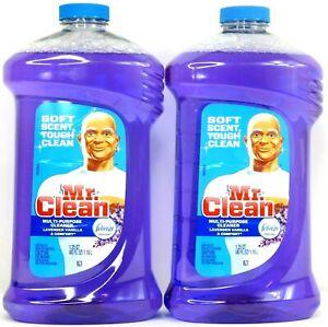 2x-Mr-Clean-Multi-Purpose-Cleaner-Lavender-Vanilla-amp-Comfort-w-Febreze-40-Oz