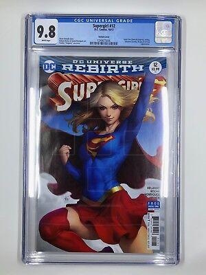 Supergirl #16   Artgerm Variant Cover    DC Comics  1st Print CGC 9.8