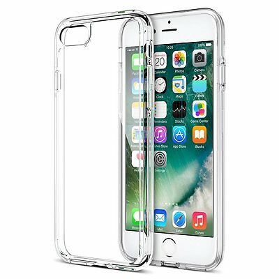 For Apple iPhone 7 Case Silicone Clear Shockproof Rubber Protective TPU