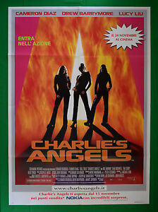 Manifesto-CHARLIE-039-S-Angels-Cameron-Diaz-Lucy-Liu-Drew-Barrymore-Cine-Film-M58