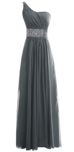 New Long Chiffon Formal Prom Party Evening Wedding Bridesmaid Dresses Size 6-28