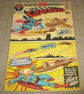 SUPERMAN-235-Mar-1971-VG-Condition-Comic-The-Devil-039-s-Harp