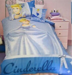 Disney-Princess-CINDERELLA-SINGLE-BED-DOONA-QUILT-DUVET-TWIN-COVER-SET