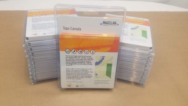 Magellan Canada Map Magellan Triton Canada Topographical Map MicroSD Card 950 0116 001