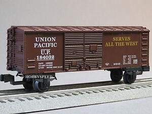 LIONEL JUNCTION UNION PACIFIC BOBBER CABOOSE o gauge train 184315 up 6-81287-C