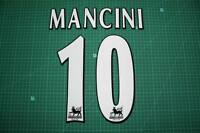 F.A. Premier League Player Size Name & Numbering Printing #10 MANCINI