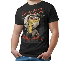 Tyrannosaurus-Rex-T-Rex-Kaiju-T-Shirt-Japanese-Monster-Unisex-Shirt-Adult-amp-Kids